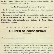 1924 - Buletin subscriptie