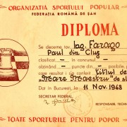 1948 - Diploma MM Paul Farago