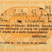 1948 - Vrabie A. - Clubul Stadion