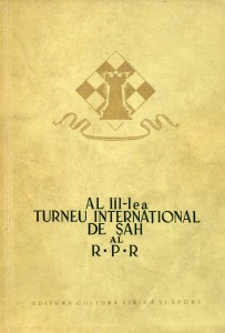 1954 - Al III-lea Turneu international de sah al R.P.R.